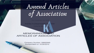 AMENDMENT OF ARTICLES OF ASSOCIATION IN CAMEROON